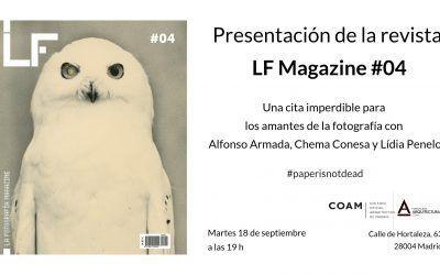 Presentación del #4 LF Magazine en Madrid
