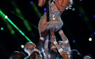 Jennifer Lopez en la SuperBowl